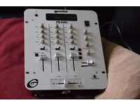 GEMINI STEREO 3 CHANNELS MIXER WITH POWER CABLE