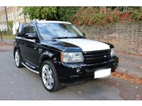 Land Rover Range Rover Sport 4.2 V8 Supercharged (MODIFIED, KAHN STRIPE, FULLY LOADED)