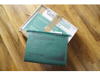 unopened box of crystalfile classic A4 suspension files