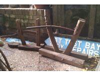 Old Faggot / Pimp press vintage woodland tool fire logs Priced individually