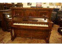 Ronisch upright piano. Tuned & UK delivery available