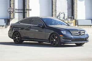 2013 Mercedes-Benz C350 4MATIC Coupe w/Premium  & Drive Assist