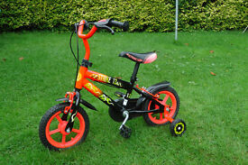 """12""""bike with stabilisers- great condition"""