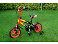 "12""bike with stabilisers- great condition"