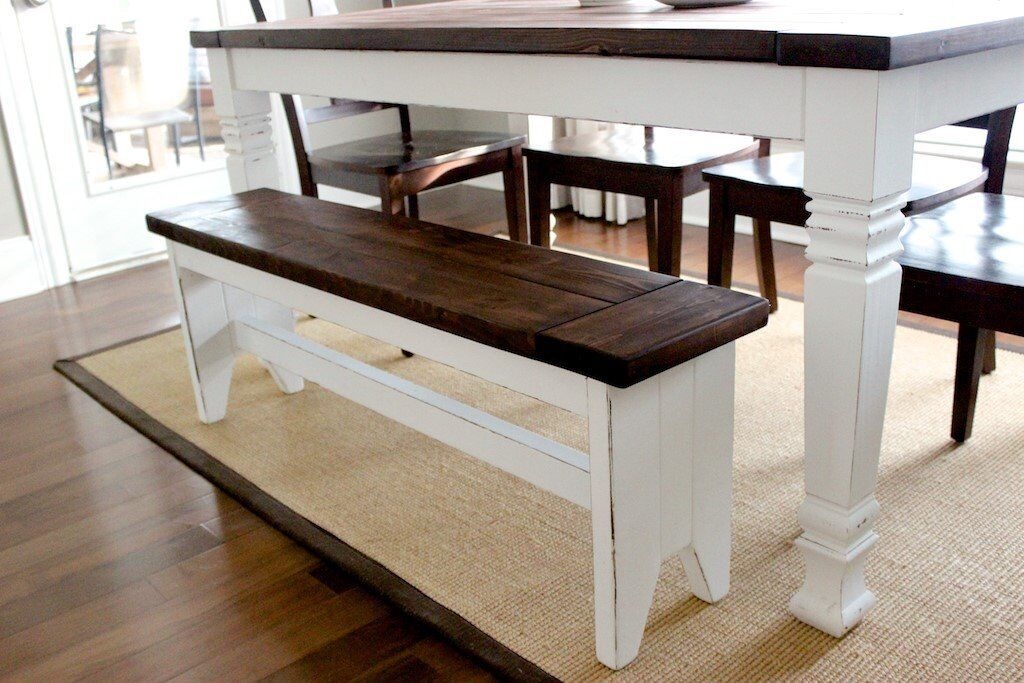 Farmhouse Style Bench Made To Order