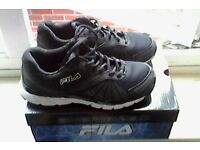 Fila trainers size As new with box