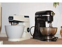 KENWOOD CHEF/BELLING 2 CAKE MIXER 45 POUND EACH CAN BESEEN WORKING