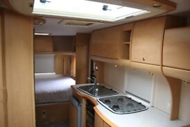 Bailey Pageant Vendee 2006 4 Berth Fixed Transverse Bed Caravan