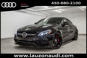 2017 Mercedes-Benz C63s AMG COUPE * 503HP* CARBON ADAPTIVE CRUIS