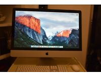 "iMac 27"" i7 Quad 8GB RAM 1 TB HDD"