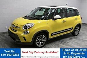 2014 Fiat 500L TREKKING w/ PANORAMIC ROOF! HEATED SEATS! ALLOYS!