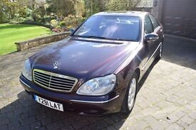 Mercedes Benz S CLASS 430 Auto In FANTASTIC condition - Full service history- REDUCED FOR QUICK SALE