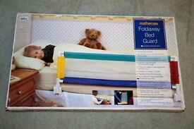 Mothercare Foldaway Bed Guard. Like new. Suitable for age 2-5 years.