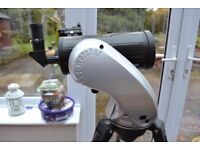 Skywatcher D=102. F =1300 GO TO Auto Tracking Telescope with tripod and many accessories