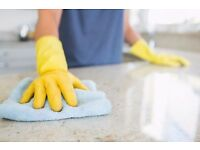 Male domestic cleaner £8 PER HOUR - Evenings and weekends