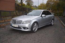 Mercedes C250 CDI Sport, SAT NAV, Full leather