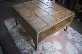 Walbrook mango coffee table