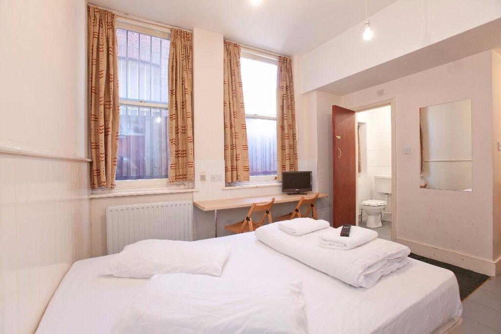 Double Studio Swiss Cottage Short Lets £320 per week all bills