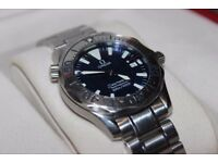 OMEGA SEAMASTER 300M MID SIZE WITH BOX AND PAPERWORK