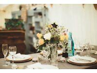 Wedding catering package- 90 settings.