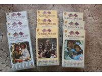 North & South VHS Tapes complete series (9 tapes) featuring Patrick Swayze