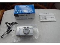 Minolta Zoom 160c compact 35mm film camera