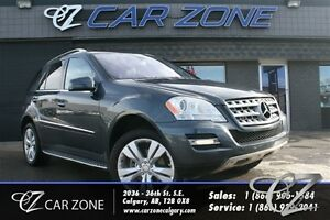 2011 Mercedes-Benz M-Class ML350 4MATIC GAS, LOW PAYMENT