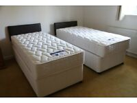 NEW Silentnight Zip and Link Bed - Super King or 2 x 3ft singles