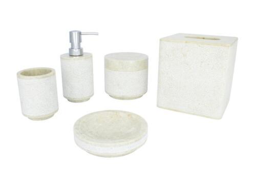 Badkamer Accessoires Roze : ≥ natuurstenen badkameraccessoires marmer onyx riviersteen