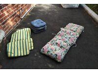 Free x7 outdoor chair cushions
