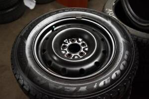 215/65/R16 Goodyear Nordic Winter Tires ( * JANEX AUTO * )