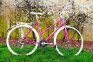 Peugeot Bekerley Pink Ladies Road Bike, 18 speeds, refurbished!