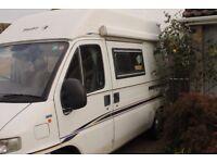 Swift Mondial Motor Caravan