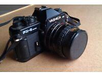 Yashica 2000 FX-3 Super 35mm SLR Camera with Lens
