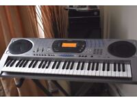 CASIO CTK-671 DIGITAL61KEYS/STAND/POWER ADAPTER CANBE SEEN WORKING