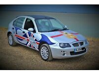 custom painted rover 25