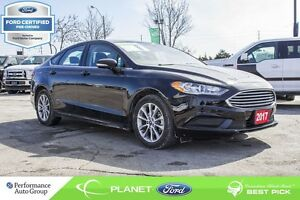 2017 Ford Fusion SE FORD CERTIFIED LOW RATES & EXTRA WARRANTY! -