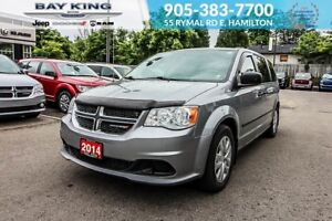 2014 Dodge Grand Caravan SE CANADA VALUE PACKAGE, A/C, POWER WIN