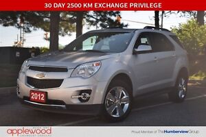 2012 Chevrolet Equinox 2LT, Leather, Sunroof, V6, Extra Clean