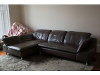 Designer Leather Corner Sofa