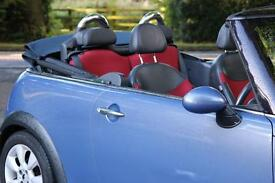 2004 1.6 MINI CONVERTIBLE COOPER BLUE (OFFERS WELCOME)