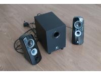Logitech Z323 2.1 Speaker system with subwoofer