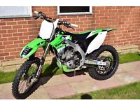 Kawasaki kxf 450 2014 bike for sale perfect condition after full rebuild lots new parts