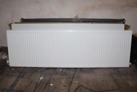 2x Radiators (1x Large AND 1x Small)   Excellent Condition   £50   FOR SALE in WYKE