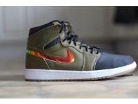 Jordan one retro malitia green size 8 shoe