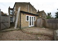 SW17 STUNNING SPACIOUS THREE BED GROUND FLOOR FLAT WITH SEPARATE LOUNGE AND STREET PARKING ONLY £455