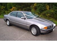 1996 P Reg BMW 728 Aspen Silver with black leather 72000 superb car owned since 2002