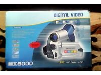 MX 8000 Digital Video Camcorder, Brand New, in metal case and origional sleeve