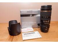 Tamron SP 70-200mm F/2.8 Di VC USD Lens (CANON) A009E