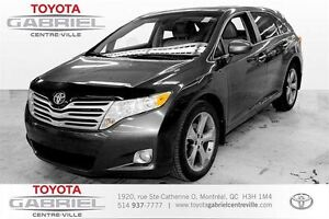 2012 Toyota Venza AWD  CUIR + GPS + CAMERA + TOIT PANORAMIQUE +